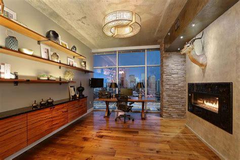 penthouse lounge bar area interior designer denver