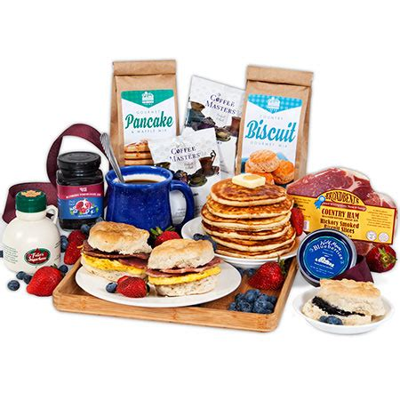 christmas morning breakfast gift basket by