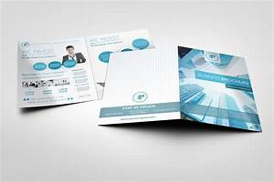 Bi fold brochure mock ups graphicriver for Bi fold pamphlet