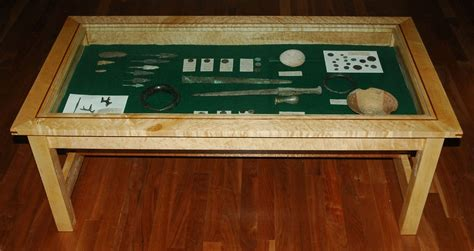 Handmade Display Coffee Table By Mountain Woodworker