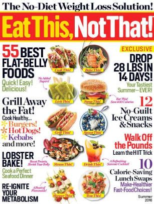 Eat This, Not That! Summer 2016 by Meredith Corporation ...