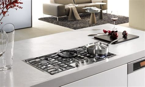 miele kmg  built  cooktop flush mounted