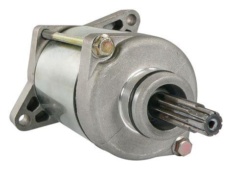 trx honda starter motor replaces oem  hp