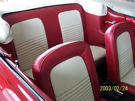 Classic Two Tone Auto Upholstery #classiccars