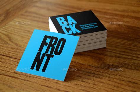 square business card mockups vol   vitalzigns