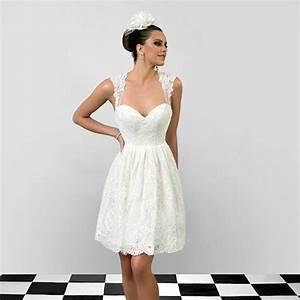 Robe Courte Mariée : trouvez votre robe de mari e courte 70 magnifiques id es en photo ~ Melissatoandfro.com Idées de Décoration