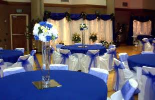 royal blue and gold wedding decorations yellow and royal blue wedding decorations