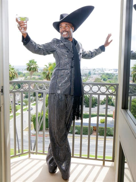 pose star billy porter wears massive hat the emmys red