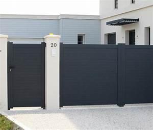 Portail Aluminium Pas Cher : portillon aluminium devis portillon sur mesure ~ Melissatoandfro.com Idées de Décoration