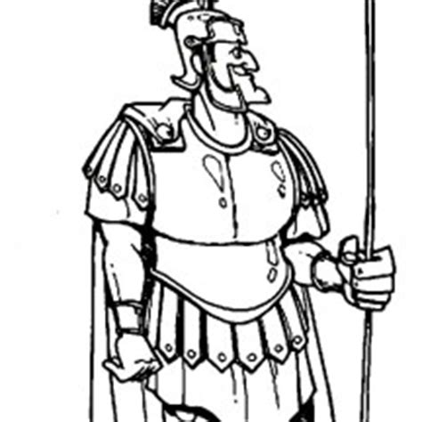 Peter And Cornelius Bible Coloring Page