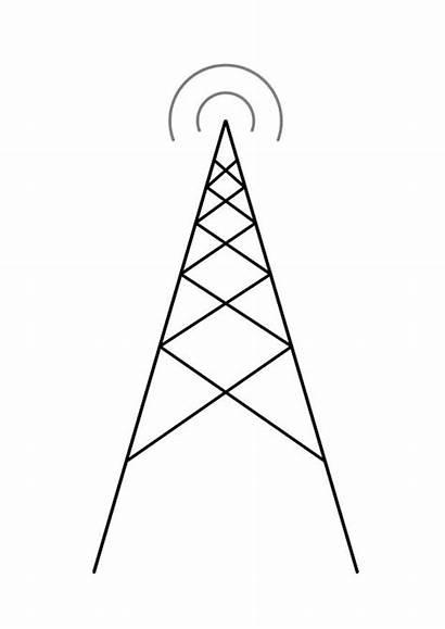 Colorare Antenna Disegno Antenne Antena Dibujo Colorear