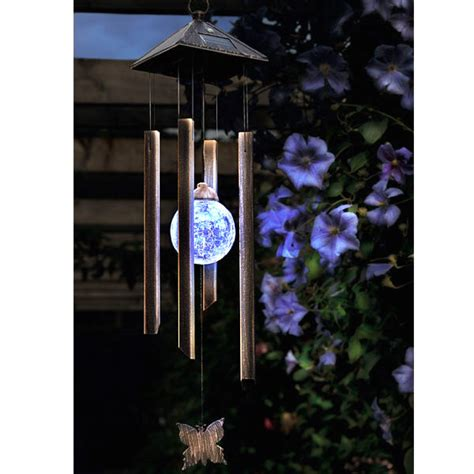 cole and bright solar butterfly wind chime light on sale