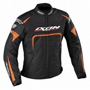 Blouson Moto Homme Textile : blouson textile homme eager noir blanc orange ixon moto magasin ixon ~ Melissatoandfro.com Idées de Décoration