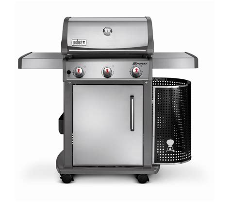 Weber 310 Spirit by Weber 174 Spirit Premium S310 Ss Gas Bbq 46500574 Bbq World