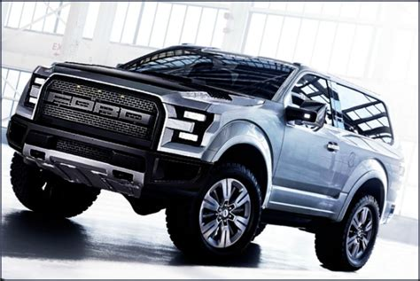 2017 Ford Bronco Release Date, Concept, Pictures, Raptor