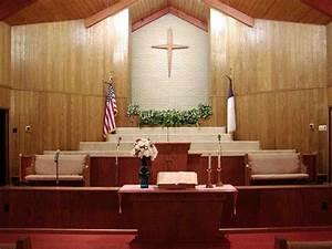 baptist church inside