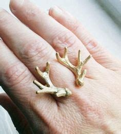 deer antler ring  pinterest antler ring wood rings