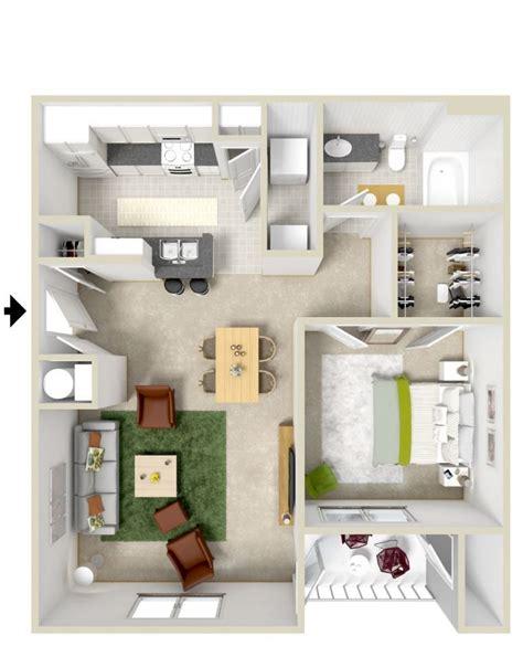 plan de chambre 3d le plan maison d 39 un appartement une pièce 50 idées