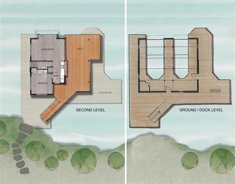 house plans floor plans gallery of muskoka boathouse christopher simmonds