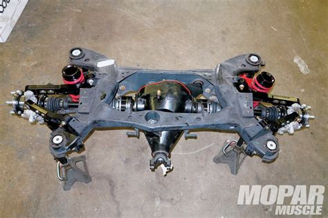 car rear suspension 301 moved permanently