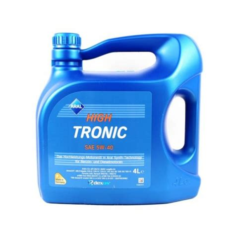 aral hightronic 5w 40 aral hightronic 5w 40 4lt