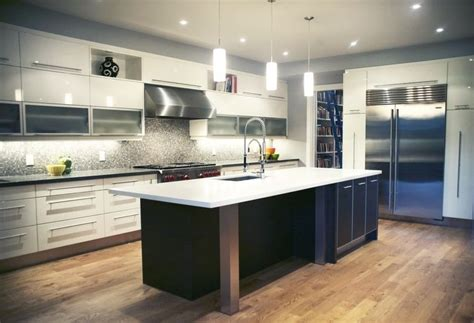 island for kitchen for contemporary kitchen with contrasting island cabinetry 7590