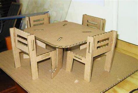 recycling cardboard  unique diy furniture inspiring