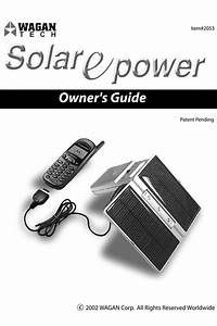 Solar Epower 2053 Manuals