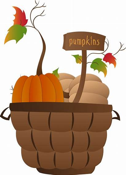 Pumpkin Clip Clipart Basket Fall Thanksgiving Cheesecake