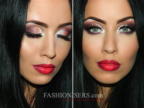 classic christmas party makeup tutorial   twist