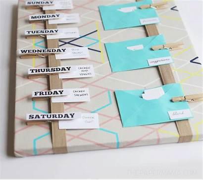 Board Plan Meal Diy Chelsey Thepapermama