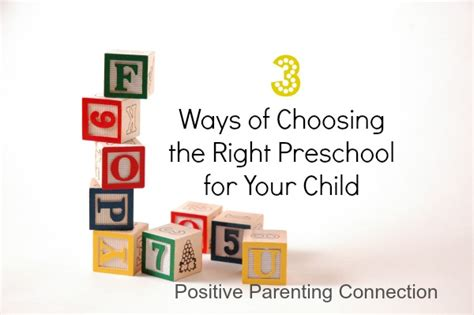 3 ways of choosing the right preschool for your child 333 | howtochoosepreschool