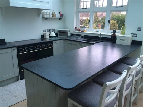 Designs for Bespoke Slate Worktops and Work Surfaces