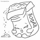 Coloring Sugar Printable Shopkins Getdrawings Getcolorings sketch template