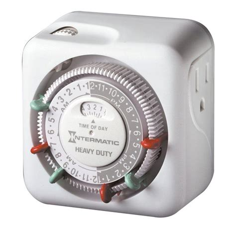 intermatic light timer intermatic 15 in heavy duty l and appliance