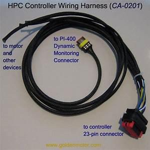 Hpc Controller Wiring Harness - Golden Motor