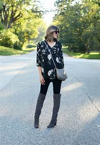 What I Wore | Black & Grey on What I Wore
