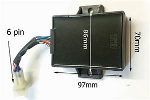 Cdi22 Cdi Unit 6 Pin Box 6 Wire For 200cc    250cc    300cc