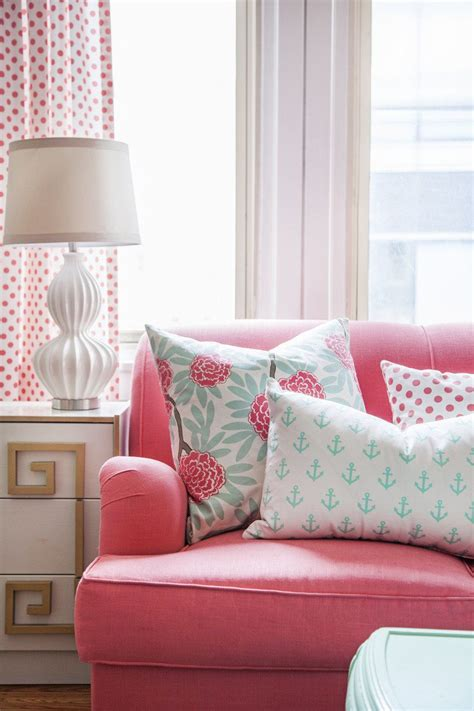Pink Sofa Promo Code by Caitlin Wilson Textiles Pillow Giveaway A Discount In