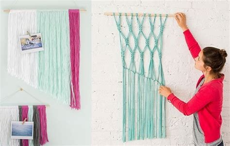 Home Decor Yarn : 5 Top Diy Wall Art Ideas For Your Home