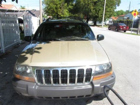 Sell Used 2000 Jeep Grand Cherokee Laredo V6, 4.0l, Low