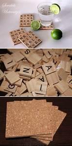 Scrabble Buchstaben Deko : diy getr nkeuntersetzer aus scrabble buchstaben diycarinchen geschenke geschenkideen ~ Yasmunasinghe.com Haus und Dekorationen