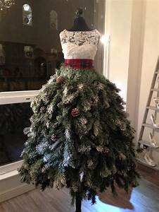 15 of the most creative diy christmas trees ever bored for Christmas tree wedding dress
