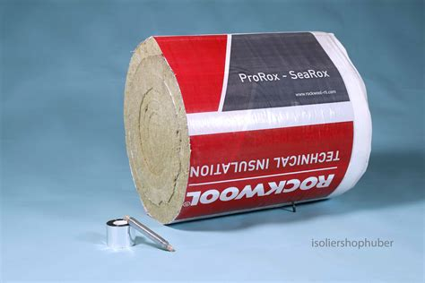 alukaschierte steinwolle rolle isoliershophuber 6 0 m 40 mm rauchrohr isolierung set rockwool prorox aus steinwolle lamellenmatte