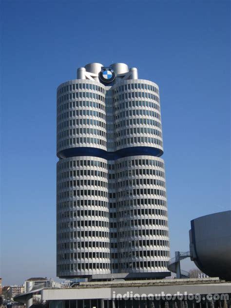 bmw headquarters   cylinder building