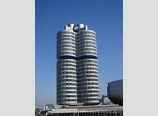 BMW Headquarters The fourcylinder building