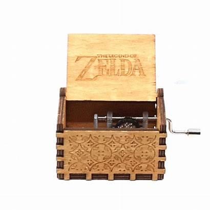 Chest Box Zelda Legend Song Storms Hand
