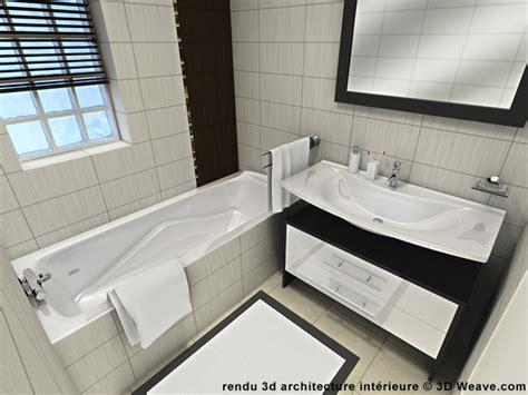 agencement salle de bain 3d