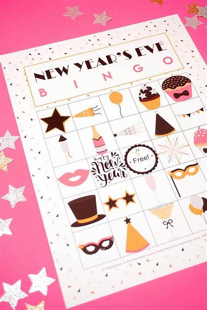 Bingo Eve Printable Years Cards Homemade Happiness