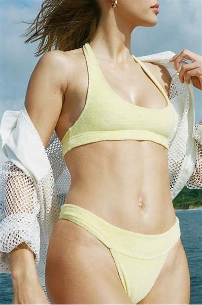 Frankies Bikinis Terry Cloth Swim Capsule Launches
